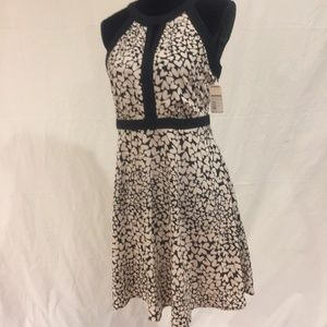 Elle black and white dress size 6
